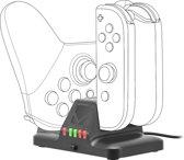 Nintendo Switch Joycon Multi Oplader - Speedlink - Zwart