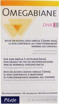 Pileje Voedingssupplementen Omegabiane DHA - 80 capsules