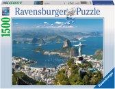 Ravensburger puzzel Uitzicht op Rio - Legpuzzel - 1500 stukjes