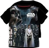 Star Wars shirt maat 128 zwart