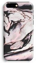 iPhone 8 Plus Volledig Geprint Hoesje - Roze stroom