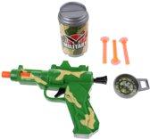 Toi-toys Pistool Army Met Zachte Kogels 18 Cm Groen