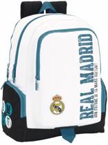 Real Madrid History - Laptop Rugzak - 42 cm - Wit