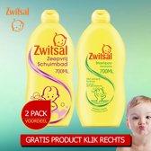 Zwitsal Zeepvrij Schuimbad 700ml - Zwitsal Anti Prik Shampoo 700ml - 2 Pack Voordeelverpakking - Gratis Oramint Oral Care Kit