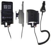 Brodit Draaibare Actieve Houder met Laadkabel voor HTC HD2