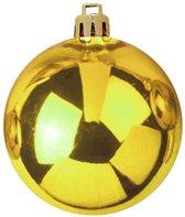 Europalms Kerstbal 10cm, gold 4x