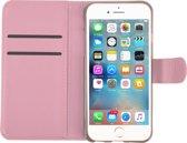 WHITE RHINO ® iPhone 5 / 5s / SE PU Leer Hoesje Roze | iPhone 5 hoes