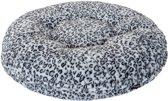 Jack and Vanilla Donut Puff Leopard - Hondenkussen - Ø70 cm