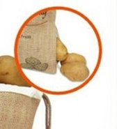 Zielonka Zilofresh™ Aardappelzak om aardappels langer vers te houden.