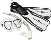 Aqua Lung Sport Amika Travel Set - Snorkelset - XS/S (35-38) - Arctic Wit