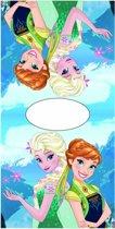 Disney Frozen Elsa Anna Present - Poncho - 50 x 100 cm - Multi