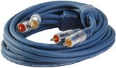 BMS MasterCable Tulp stereo audio kabel - 2,5 meter