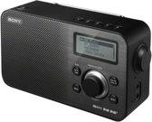 Sony XDR-S60 - DAB+ radio - Zwart