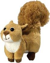 Pluche knuffel eekhoorn 18 cm