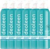 Deoleen Deodorant Spray Gevoelige Huid Voordeelverpakking
