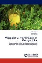 Microbial Contamination in Orange Juice