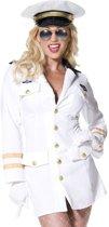 Top Gun Piloten kapitein kostuum   Verkleedkleding dames maat M (40-42)