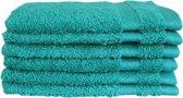 Katoenen Washandjes met Ophang Lus – 6 Pack – 15 x 21 cm – Spring Green