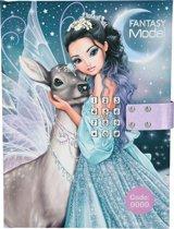 Topmodel Fantasy Model dagboek met geheime code en muziek