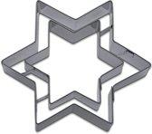 Uitsteker RVS - ster - 9cm - St�dter
