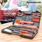 InnovaGoods Koffer voor Barbecues (18 stuks)
