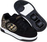 HEELYS X2 PLUS LIGHTED, ZWART/GOUD