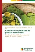 Controle de Qualidade de Plantas Medicinais