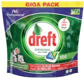 Dreft Original - All in One - 100 Stuks - Vaatwastabletten