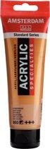 Amsterdam Standard acrylverf tube 120ml - Donkergoud - halfdekkend