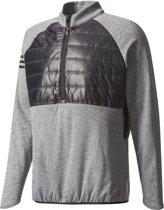 Adidas Jack Climaheat Quilted Heren Grijs/zwart Maat M