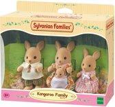 Sylvanian Families 5272 Familie Kangoeroe  - Speelfigurenset