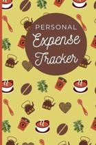 Personal Expense Tracker: Coffee Gifts: Cute Daily Expense Tracker Organizer To Keep Track Of Your Spending Habits (6'' x 9'')