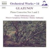 Glazunov: Orchestral Works Vol 14 - Piano Concertos nos 1 & 2 etc