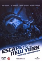 DVD cover van Escape From New York