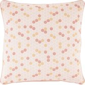 Dutch Decor Kussenhoes Hulda 45x45 cm peach