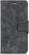 Sony Xperia L3 Portemonnee Hoesje Splitleer Zwart