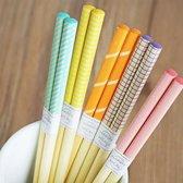 Chopsticks - Bamboe - 5 paar - 22,5cm - Sushi giftset