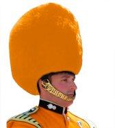 Engelse Oranje Guard Bontmuts