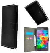 Samsung Galaxy Grand Prime VE Wallet Bookcase hoesje Zwart