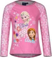 Frozen Kinder Longsleeve - Anna & Elsa (Roze) 128cm / 8 jaar