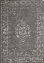 Vintage vloerkleed Dae 70x140 - Grijs