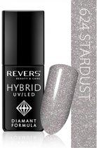 REVERS® Hybrid Nail Polish UV/LED 6ml. #624 Stardust