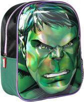 Marvel The Avengers Hulk 3D Kinderrugzak 31cm