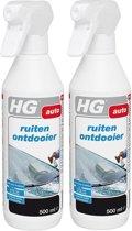 Hg ruitenontdooier 500 ml - 2 Stuks !