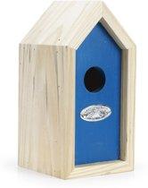 Best for Birds Winterkoning Vogelhuisje - Blauw - 19 x 9 x 10 cm