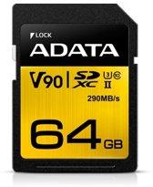 ADATA Premier ONE V90 flashgeheugen 64 GB SDXC Klasse 10 UHS-II