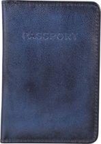 BURKELY Noble Nova Passport Cover - Paspoort / Creditcardhouder - Blauw