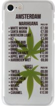 iPhone 6/6s Weed menu Amsterdam Marijuana souvenir gift cover