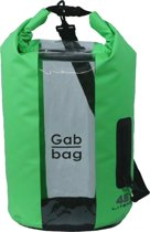 Dry Gabbag - 45 liter - Groen - 100% waterdicht - Venster