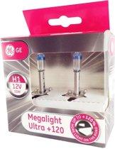 GE Halogeen Megalight Ultra +120 - H1